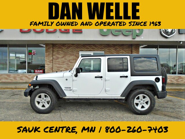 Certified Pre-Owned 2018 Jeep Wrangler JK Unlimited Sport S