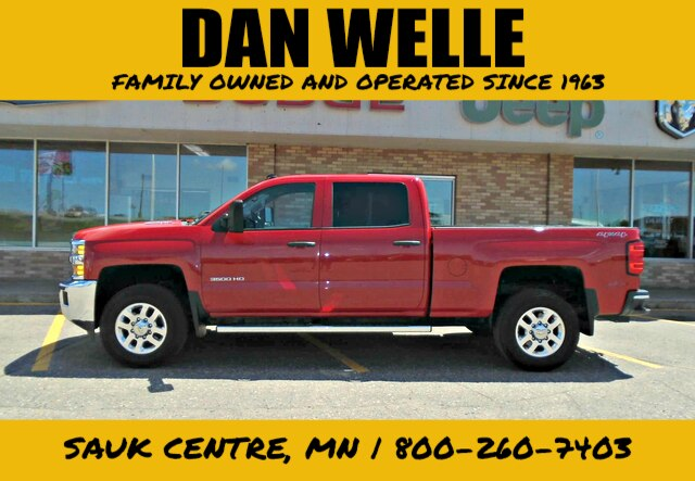 Pre-Owned 2015 Chevrolet Silverado 3500HD LT
