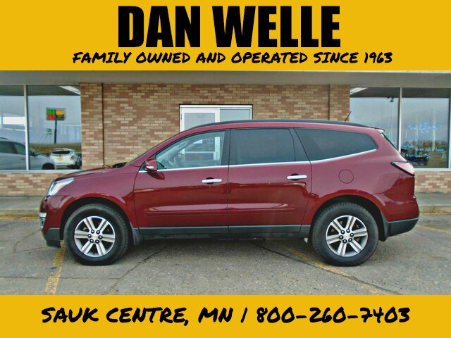Pre-Owned 2017 Chevrolet Traverse LT w/2LT